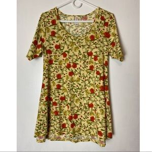 Lularoe small rose floral Tops